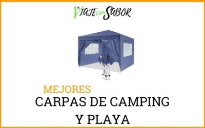 Carpas de camping y playa