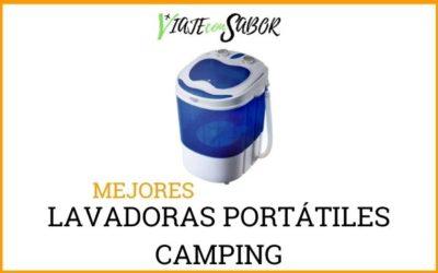 Lavadoras portátiles camping