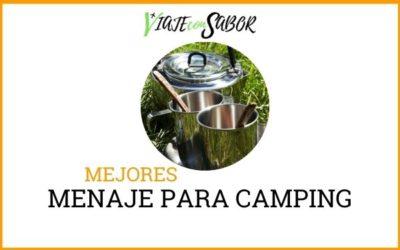 Menaje para camping
