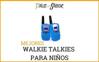 Walkie talkies niños